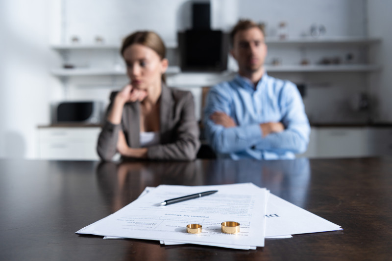 Skilsmässorna ökar under pandemin